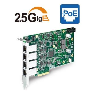 4-port 2.5GigE PoE+ Expansion Card Image