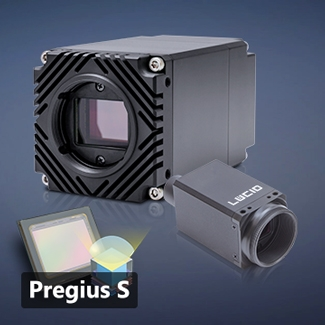Cameras featuring 4th Generation Sony Pregius S sensors Image