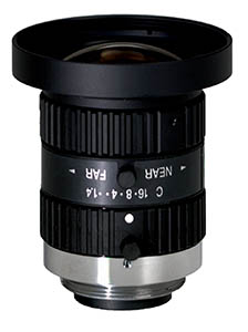 1/2 inch 5mm f1.4 w/locking iris & focus, 1.5 megapixel, C-mount Image