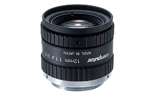 2/3 inch 12mm f1.4 w/locking iris & focus, 1.5 megapixel, C-mount Image