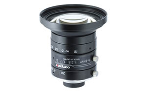 1.1 inch 8mm f2.8, 3.45um, 12.0 megapixel Ultra low Distortion Lens Image