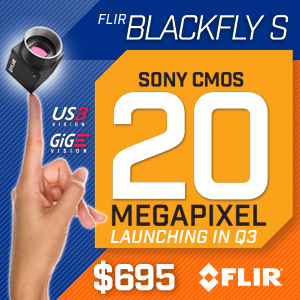 20 MP Blackfly® S with Sony IMX183 Image