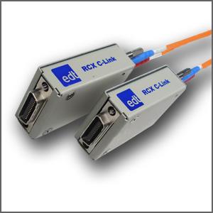 Camera Link extender over fiber-optic cable Image