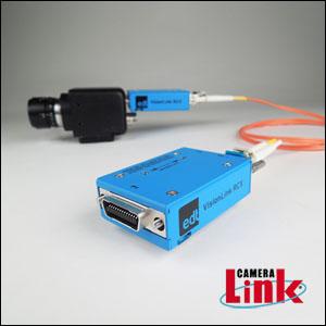Camera Link extender (next-gen) over fiber-optic cable - VisionLink series Image
