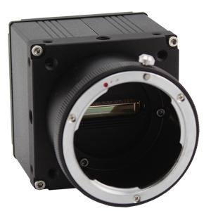 Line Scan CMOS Mono Camera Image