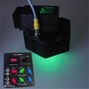 Dual-Axis RGB LED Light Image