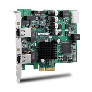 2-CH PCI Express PoE Frame Grabber Image