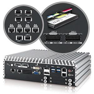 4-port 10 GigE Workstation-grade Embedded System Image