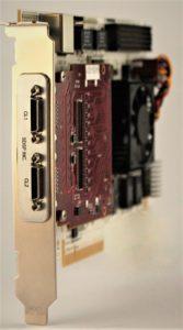 FG-650CL, a PCIe, open FPGA, Based CameraLink Frame Grabber Image
