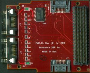 FMC-CL, Cameralink frame-grabber FMC Image