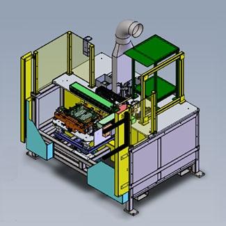Center Glass Soldering Bonding Assembly Fixture Image