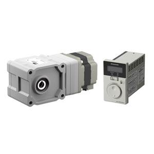 120 W (1/6 HP) Brushless  Motor & Driver with Optional Hypoid Right Angle JH Gear Image