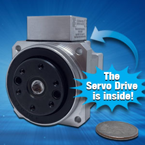 Actuator with Integrated Servo Drive Image
