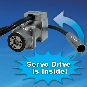 Miniature Actuator with Integrated Servo Drive Image