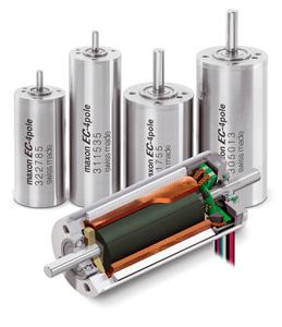 EC-4pole Brushless Motors Image