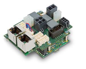 Compact controller communicates via EtherCAT Image
