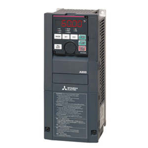 FR-A800-E Series Variable Frequency Drive with Built-in Ethernet Communication Image