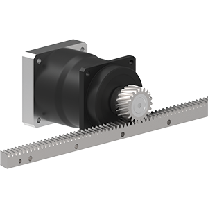 Precision Helical Rack & Pinion Systems Image