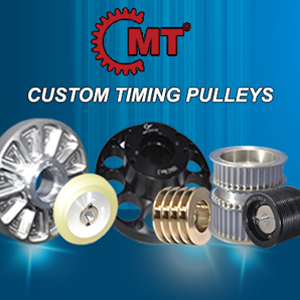 Custom Timing Pulleys with the Concentric Maxi Torque Image