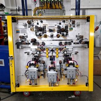 Manual Door Glass Bonding Assembly Fixture Image