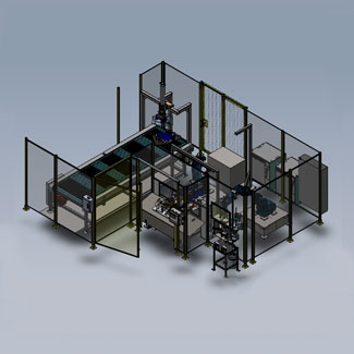 Quarter Window Robotic Priming Assembly Cell Image
