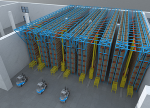 Automated warehouse system (AS/RS) Image