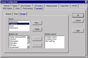 Epson Security/Audit Log Image