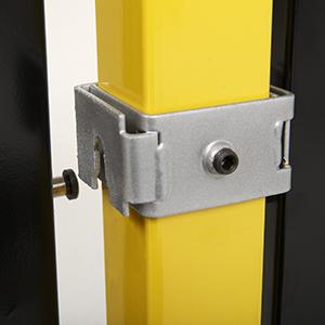 Drop-N-Lock® Bracket System for Saf-T-Fence® Image