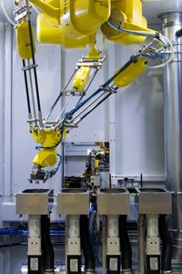 Robotic Deburring System Image