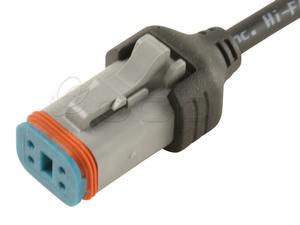 Deutsch DT06-4S IP67 Molded Cable Image