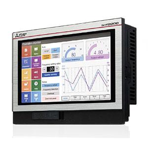 GT2107 Wide Series Human Machine Interface (HMI) Image