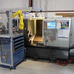 Robotic Machine Tender Image