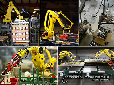 Motion Controls Robotics products