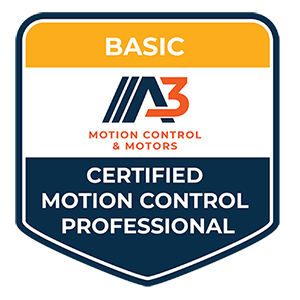 A3 - Certified Motion Control Professional