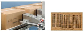 Ink-based case coding equipment prints linear barcodes directly onto cardboard packaging. Movement of products during printing and variations in product speed can greatly impact the quality of these barcodes at the time they are applied.
