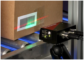 The scan line of a laser barcode scanner must cross all bars in a linear barcode in order to ensure readability.