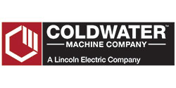Coldwater Machine Company, a Lincoln Electric Company Logo