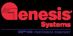 Genesis Systems, IPG Photonics Company Logo