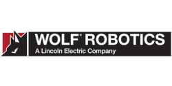 Wolf Robotics, A Lincoln Electric Company Logo