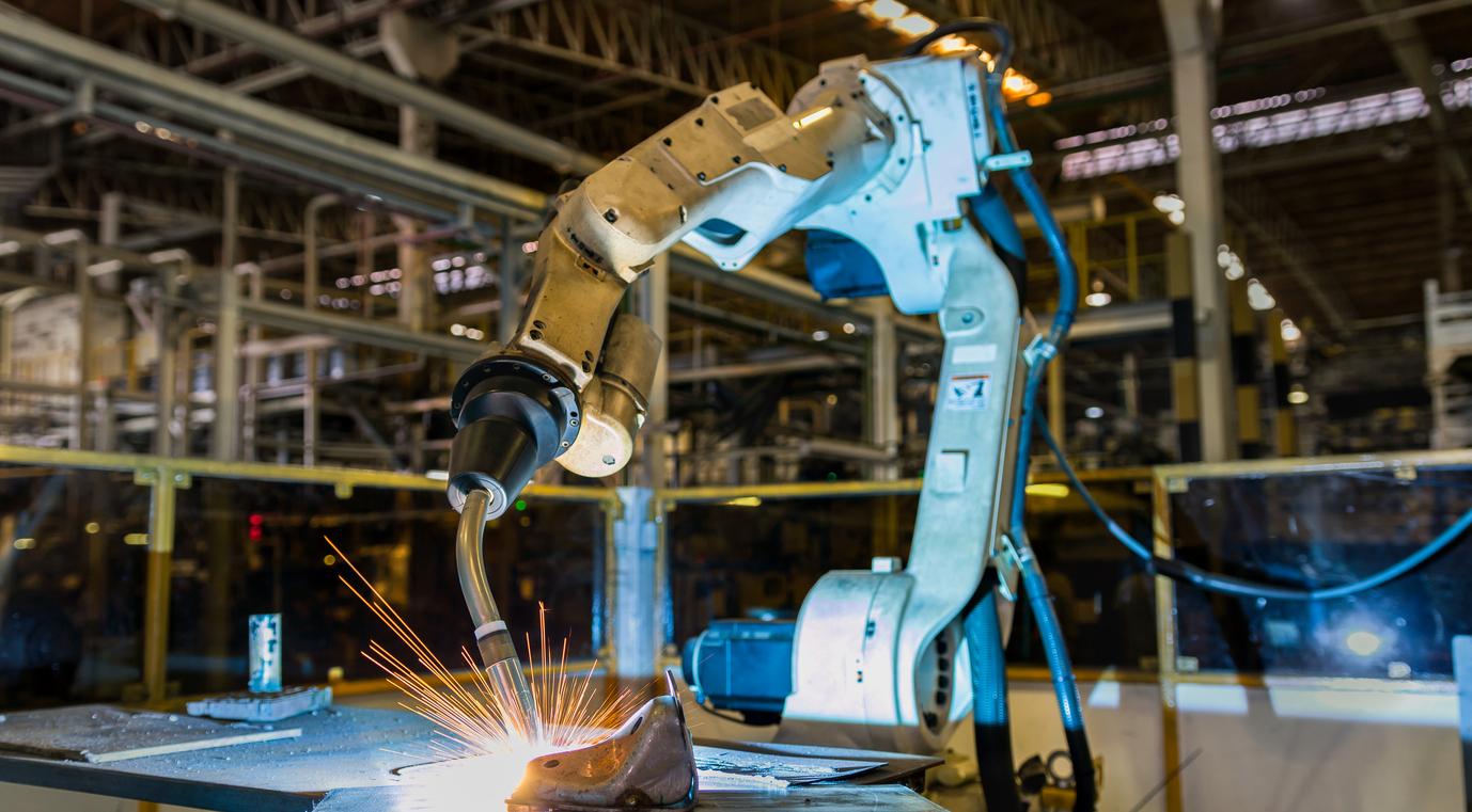 로봇 용접 프로세스의 성능 향상